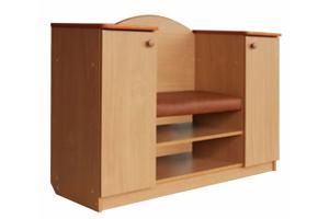Тумба для обуви ТО-03 - Мебельная фабрика «ГРАНД»