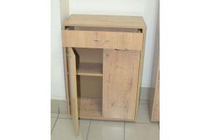 Тумба для прихожей с ящиком дуб бунратти - Мебельная фабрика «Миссия»