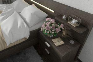 Тумба Лазурит с USB-розеткой - Мебельная фабрика «Лазурит»