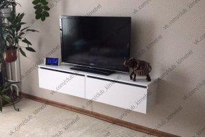 Тумба навесная под телевизор - Мебельная фабрика «KL-Мебель»