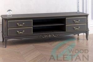 Тумба под ТВ широкая артикул 305BL - Мебельная фабрика «ALETAN wood»