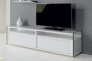 Тумба под ТВ со стеклом Beautiful - Мебельная фабрика «МФ-КУПЕ»