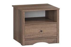 Тумба прикроватная ЛОФТ-1 - Мебельная фабрика «Woodcraft»