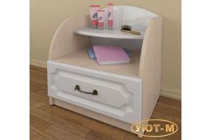 Тумба прикроватная с ящиком - Мебельная фабрика «Уют-М»