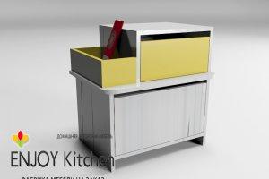 Тумба прикроватная TP5 - Мебельная фабрика «ENJOY Kitchen»