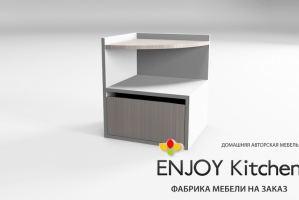 Тумба прикроватная TP7 - Мебельная фабрика «ENJOY Kitchen»