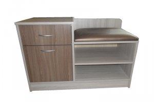 Тумба с мягким сиденьем - Мебельная фабрика «Муром (ЗАО Муром)»