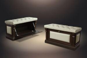 Тумба с сиденьем с дверью - Мебельная фабрика «Благо»