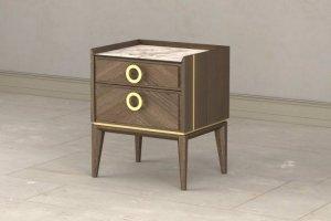 Тумба Santorini с двумя ящиками - Мебельная фабрика «Lasort»