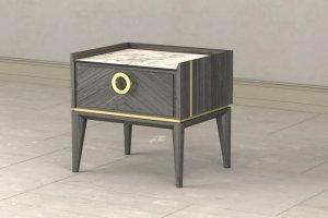 Тумба Santorini с одним ящиком - Мебельная фабрика «Lasort»