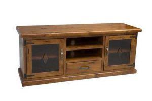 Тумба TV Натуральное дерево - Мебельная фабрика «Кантри»