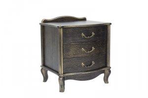 Тумбочка прикроватная Джульетта (3 ящ.) - Мебельная фабрика «Мебель Импэкс»