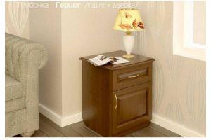 Тумбочка прикроватная Герцог - Мебельная фабрика «Верба-Мебель»