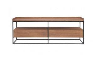 ТВ-подставка из дерева Ванкувер-2 - Мебельная фабрика «WOODGE»