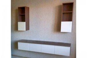 ТВ секция с подвесной тумбой - Мебельная фабрика «Таита»