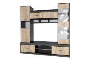 ТВ стенка Гамма-19 - Мебельная фабрика «ИнтерСиб»