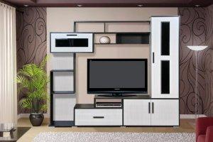 ТВ стойка в гостиную 23 - Мебельная фабрика «ДиВа мебель»
