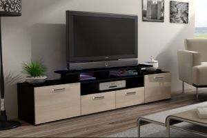 ТВ-тумба Альфа 1 - Мебельная фабрика «ВикО Мебель»