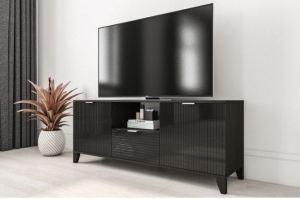 ТВ-тумба черная Рондо 15 - Мебельная фабрика «IRIS»