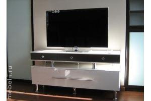 ТВ-тумба хром - Мебельная фабрика «Мебельные истории»