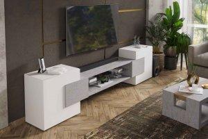 ТВ-тумба Инкастро бетон - Мебельная фабрика «Handis»