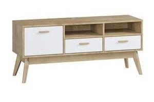 ТВ-тумба Нордик-1 - Мебельная фабрика «Woodcraft»