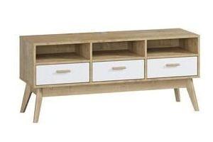 ТВ-тумба Нордик-4 - Мебельная фабрика «Woodcraft»