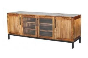 ТВ-тумба из дерева Пьер Тристан - Мебельная фабрика «WOODGE»