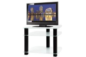 ТВ-тумба стеклянная ТВС 1 - Мебельная фабрика «Алекс-Мебель»
