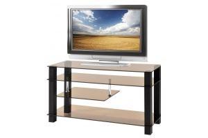 ТВ-тумба стеклянная ТВС 11 - Мебельная фабрика «Алекс-Мебель»