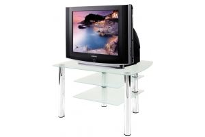 ТВ-тумба стеклянная ТВС 13 - Мебельная фабрика «Алекс-Мебель»