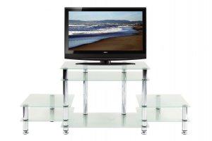 ТВ-тумба стеклянная ТВС 14 - Мебельная фабрика «Алекс-Мебель»