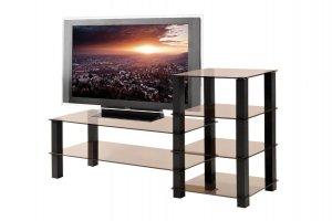 ТВ-тумба стеклянная ТВС 17 - Мебельная фабрика «Алекс-Мебель»