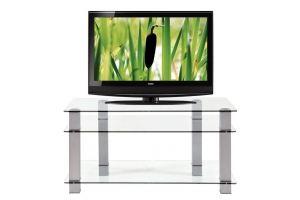ТВ-тумба стеклянная ТВС 18 - Мебельная фабрика «Алекс-Мебель»