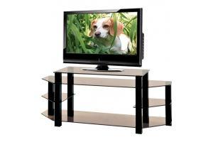 ТВ-тумба стеклянная ТВС 19 - Мебельная фабрика «Алекс-Мебель»