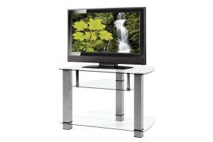 ТВ-тумба стеклянная ТВС 2 - Мебельная фабрика «Алекс-Мебель»