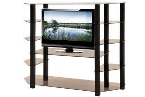 ТВ-тумба стеклянная ТВС 20 - Мебельная фабрика «Алекс-Мебель»