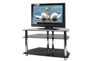ТВ-тумба стеклянная ТВС 22 - Мебельная фабрика «Алекс-Мебель»