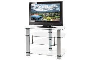 ТВ-тумба стеклянная ТВС 3 - Мебельная фабрика «Алекс-Мебель»