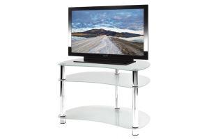 ТВ-тумба стеклянная ТВС 4 - Мебельная фабрика «Алекс-Мебель»