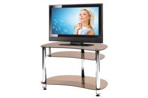 ТВ-тумба стеклянная ТВС 5 - Мебельная фабрика «Алекс-Мебель»