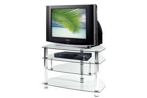 ТВ-тумба стеклянная ТВС 9 - Мебельная фабрика «Алекс-Мебель»