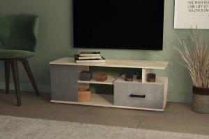 ТВ тумба Стиль-1 ЛДСП Бетон - Мебельная фабрика «Северин»