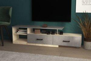 ТВ тумба Стиль-3 ЛДСП бетон - Мебельная фабрика «Северин»