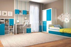 Удобная детская мебель Смурфик - Мебельная фабрика «Ренессанс»