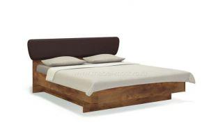 Удобная двуспальная кровать с мягким изголовьем Solo - Мебельная фабрика «Мебель-Москва»