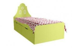 Удобная и практичная кровать с ящиками Амстердам - Мебельная фабрика «Мандарин»