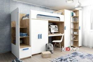 Удобная мебель для детской Junior Белый - Мебельная фабрика «Клюква»