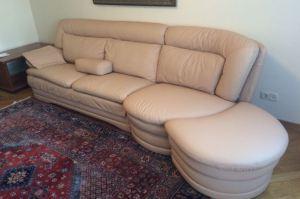 Удобный кожаный диван - Мебельная фабрика «Элит-диван»