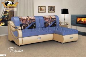 Удобный мягкий диван Пума угловой - Мебельная фабрика «Панда»